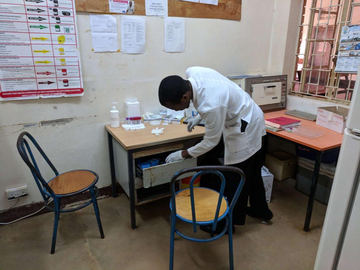 WESTERN UGANDA 2018 BEFORE DONATING EQUIPMENT